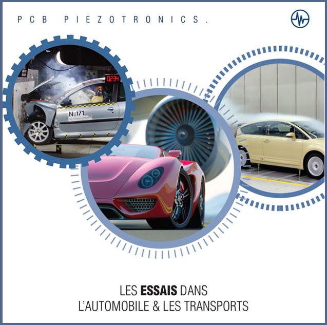 Les essais dans l'automobile et les transports