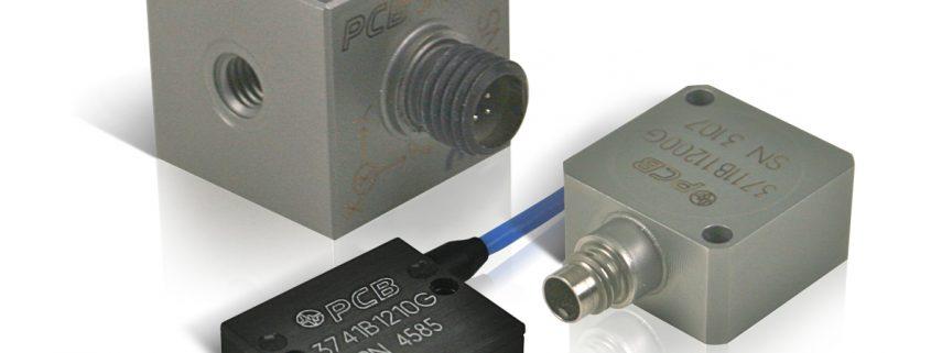 Capteurs de mesure: accéléromètres PCB Piezotronics
