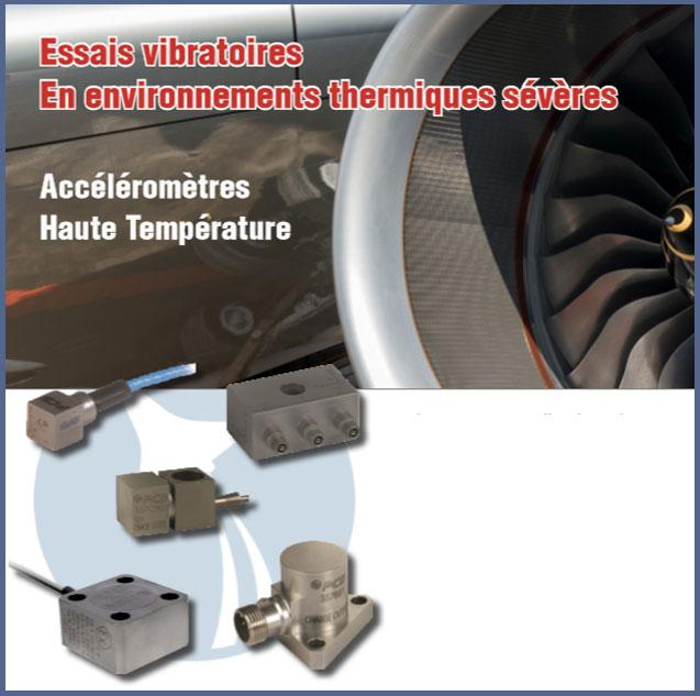 Essais-vibratoires-environnement-severe- Accéléromètres haute température