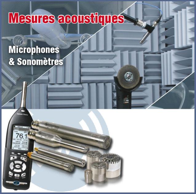 Mesures acoustiques: microphones et sonomètres